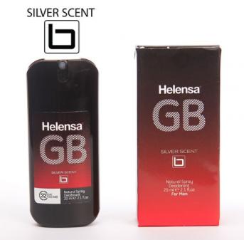 عطر جیبی مردانه هلنسا مدل GB-15حجم 20میلی لیتر