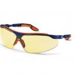 عینک ایمنی مدل i-vo لنز زرد برند Uvex