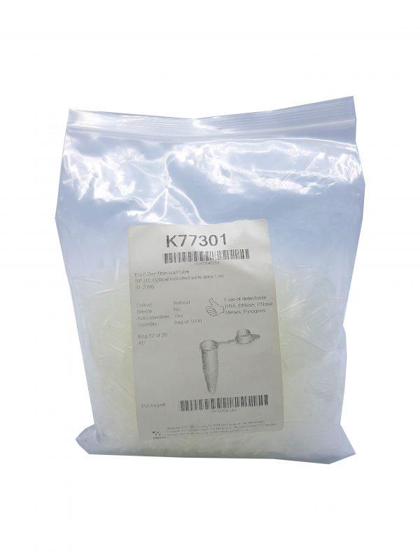 میکروتیوب تکی 0/2 میکرولیتری بیوپلاستیک K77301