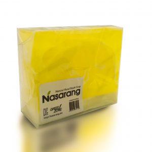 صابون لایه بردار طبیعی مدل Yellow