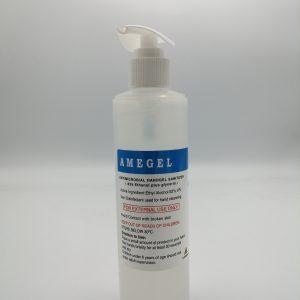 ژل ضدعفونی دست AMEGEL-حجم 250میلی لیتر